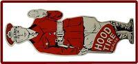 Hood Tire Refrigerator / Tool Box Magnet Man Cave Gift Item