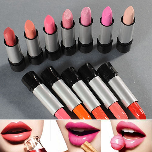 Hot Fashion Women 12PCS 12 Colors Cosmetic Lipstick Lip Stick Makeup Set