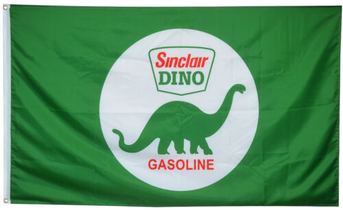 GASOLINE sinclair dino flag 3X5FT Banner US shipper