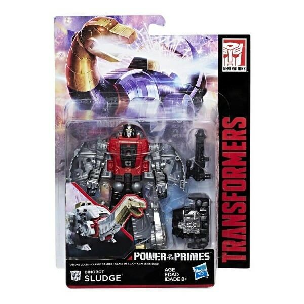 Transformers Hasbro Power of the Primes POTP W2 Deluxe Class Dinobot Sludge