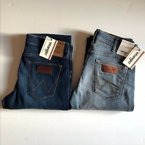 NWT-Wrangler-Men-039-s-Greensboro-Modern-Straight-BORN-READY-Jeans-Pants-All-Sizes