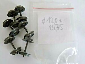 6 Stück Märklin Zapfenachsen 24,75 x 12,0 mm NEU - Fürth, Deutschland - 6 Stück Märklin Zapfenachsen 24,75 x 12,0 mm NEU - Fürth, Deutschland