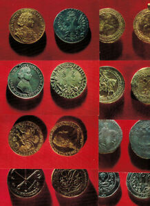 Set-16-postcards-RARE-RUSSIAN-COINS-from-the-Hermitage-Collection-2-lang-R-E