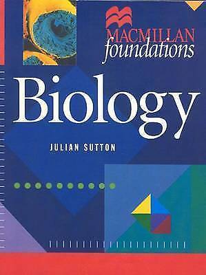 1 of 1 - Biology (Macmillan Foundations), Sutton, Julian | Paperback Book | Acceptable |