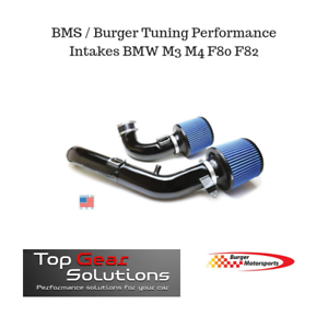 Details about Burger Tuning BMS S55 Performance Intake BMW M3 M4 F80 F82