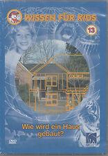 Wissen für Kids 13 Wie wird ein Haus gebaut? Kinder DVD NEU Architekt Bauleiter