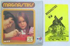Ancien jeu Magnastiks / Jeu de construction magnétique / Oscar du Jouet 6-12 ans