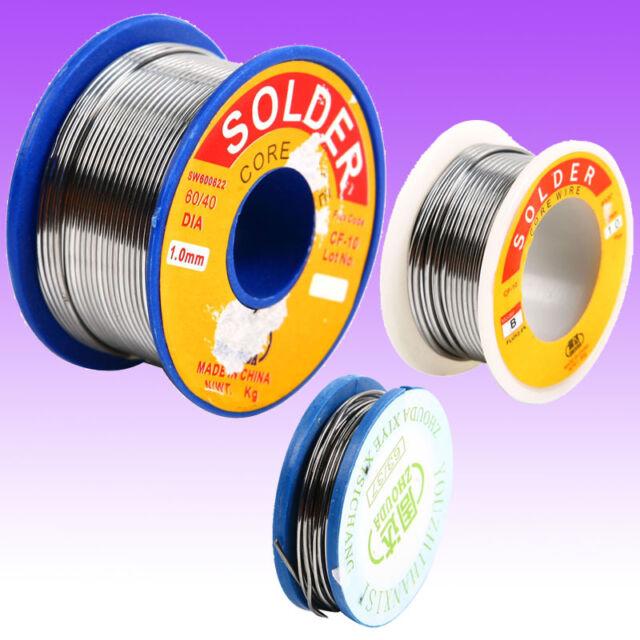 Hot 63/37 0.8mm tin Rosin Core Solder Wire Flux 2.0% Welding Iron Wire Reel Tool