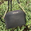 NWT-MICHAEL-KORS-SAFFIANO-LEATHER-Jet-Set-Travel-DOME-CROSSBODY-BAG-BLACK-GOLD thumbnail 6