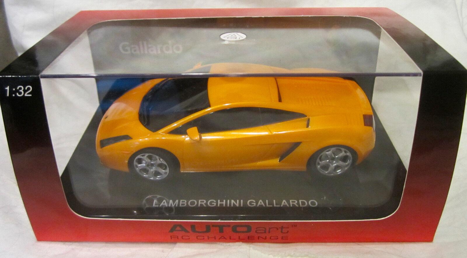 LAMBORGHINI GALLARDO, orange - Auto Art RC Challenge - 1 32 Scale Die Cast Car
