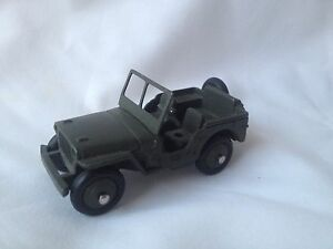 80B Jeep Hotchkiss Willys DT25E Voiture réédition DINKY TOYS atlas