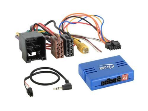 Auto Radio Adapter Lenkrad Adapter Kabel für Ford Transit Custom ab 2018