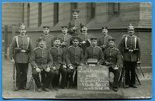CPA Photo: Soldats du 4° Garde-Regiment zu Fuß / Allemagne / 1912