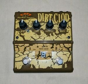 DECIBEL-ELEVEN-DIRT-CLOD-DB11-DC-ANALOG-OVERDRIVE-DISTORTION-EFFECTS-PEDAL