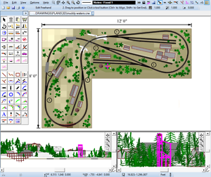 RAILWAY CAD SOFTWARE DESIGN /& BUILD MODEL TRACK LAYOUT PLANS HORNBY OO GUAGE