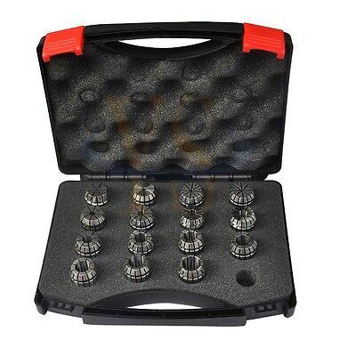 Precision 15PCS ER25 COLLET ( 3/32-5/8) ER25  CNC Collet Chuck ToolHolder