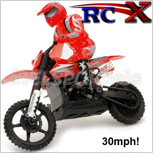Fast RC Off Road Motor Bike Motocross Bike Motorcycle Radio Remote Control 30mph
