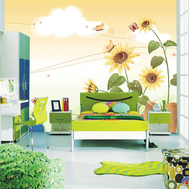 Varisized Butterfly 3D Full Wall Mural Photo Wallpaper Printing Home Kids Decor