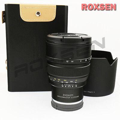 NEW Mitakon Zhongyi Speedmaster 85mm f/1.2 Prime Lens for Sony A7II A7R A7 A7s