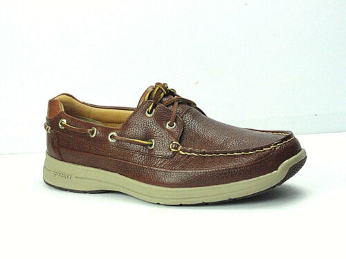 Men/'s Sperry Top-Sider Gold Cup ASV Ultralite Cognac Casual Boat Shoe Size 7.5