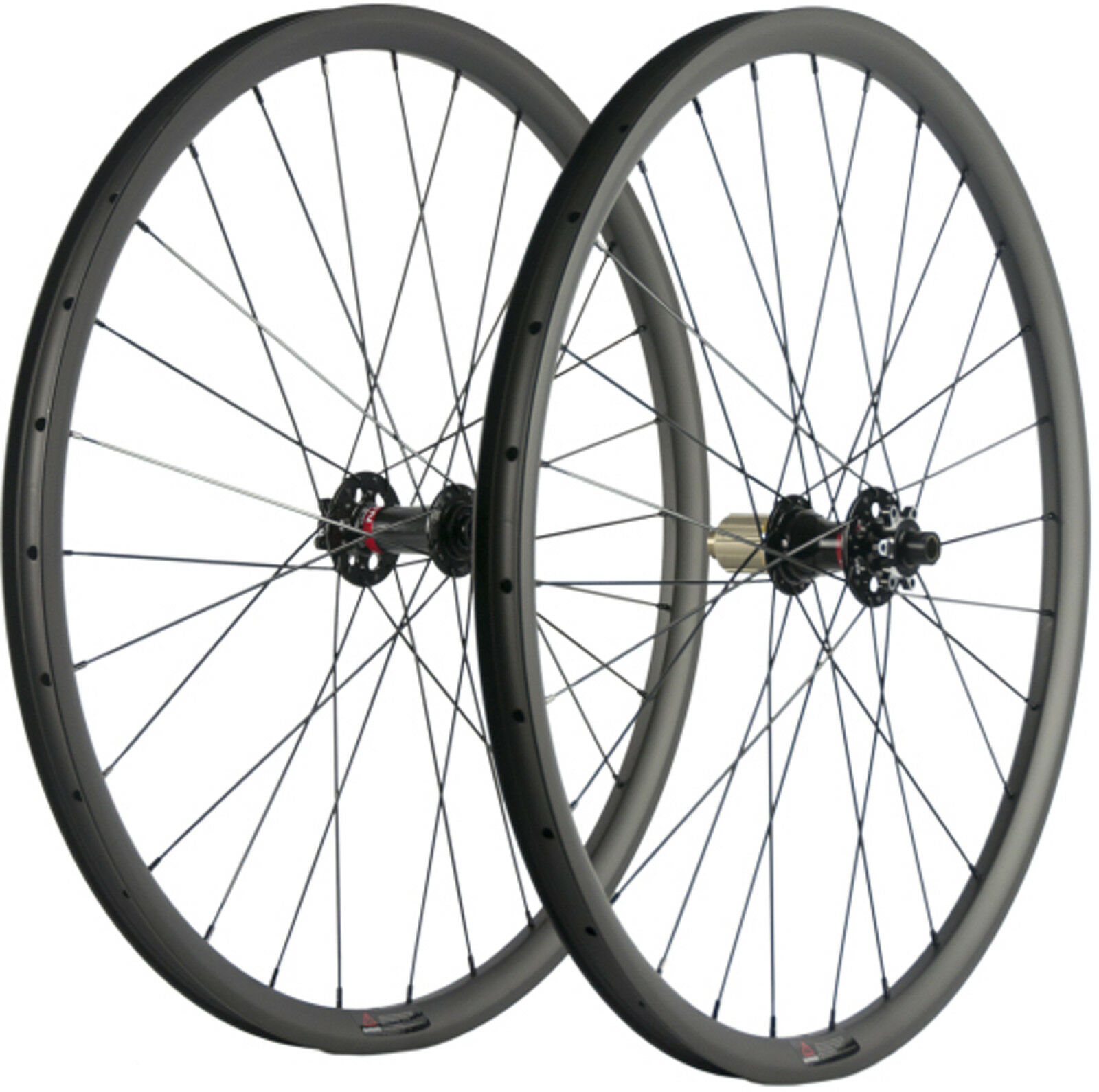 MTB Carbon  Wheelset 29ER 30mm Width Mountian Bike Wheelset Tubeless Thru Axle  creative products