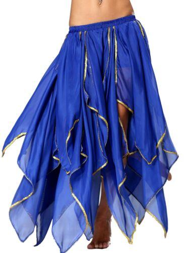 Belly Dance Dancer Gypsy Renaissance Corset Fairy Pirate Flame Phoenix Skirt UK