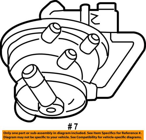 Dodge CHRYSLER OEM Durango Emission Vapor Canister-Detection Pump 4891422AD