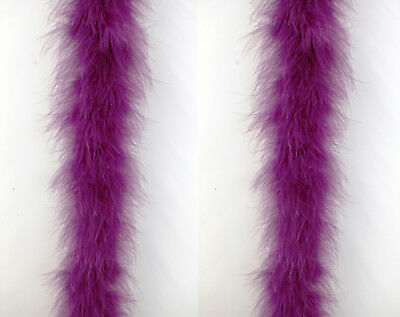 "RED 2 Yards; Dress//Bridal//Art//Costume 72/"" MARABOU FEATHER BOA 22 Grams"