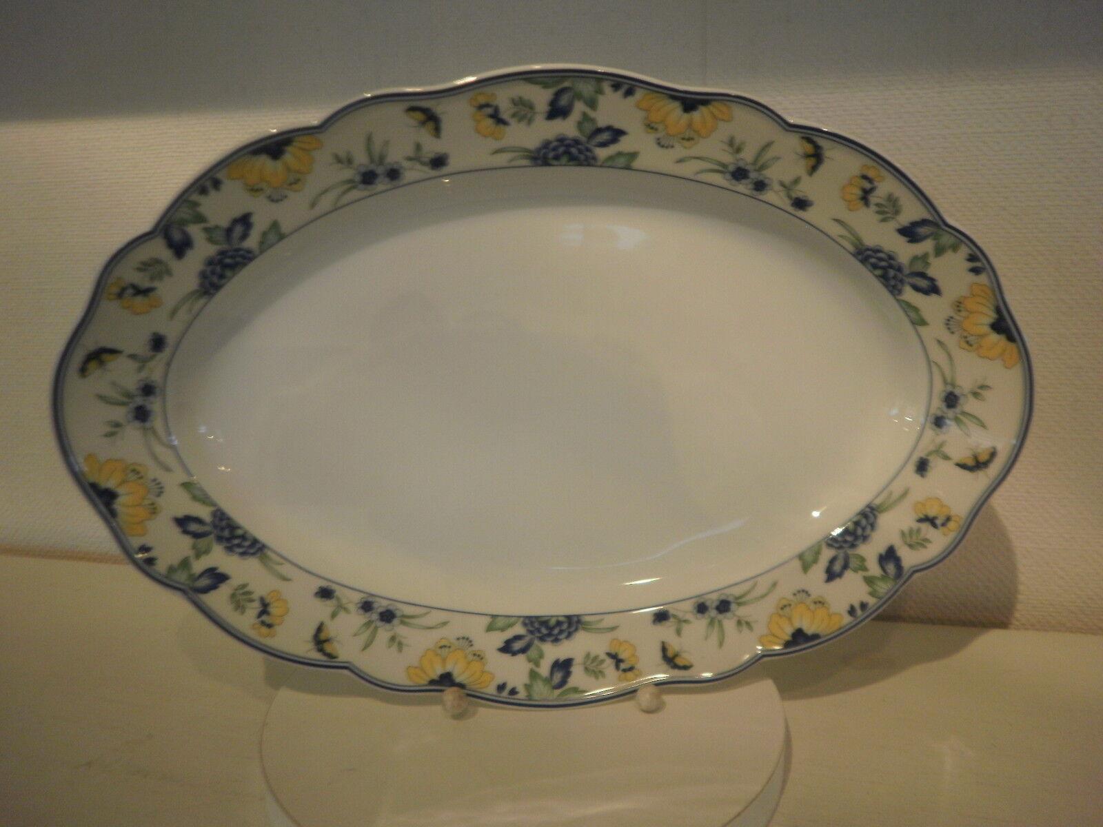 Platte  35 cm  oval oval oval 12735 Medley  Papillon  Hutschenreuther NEU 87a6a0