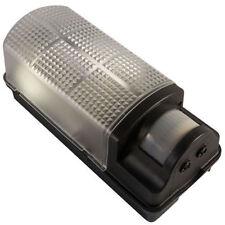 Robus 60W Bulkhead Wall Light Fitting WITH PIR Sensor BLACK R60BHPIR