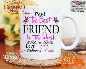Personalised Best Friend Gift Mug Birthday Anniversary