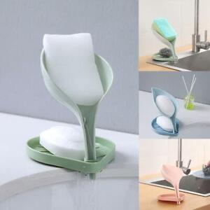 Creative Bathroom SOAP Free-Hanging Holder Soap Box F6L8