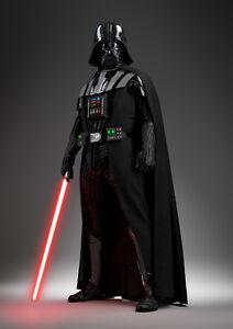 Image Is Loading Star Wars Darth Vader Lightsaber Giant Poster Art