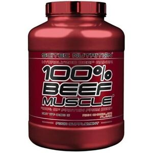Scitec-100-Beef-Gainer-3180g-Muskelaufbau-Weight-Gainer-Hardgainer-Mass