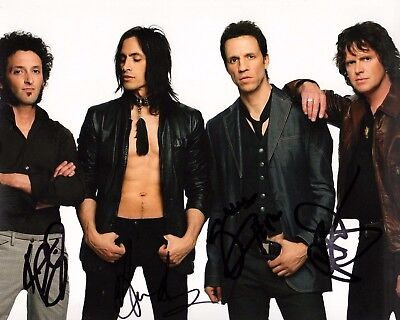 Extreme Signed Autograph 8x10 Photo Proof Ad5 Coa Clear-Cut Texture Gfa Gary Cherone Band X4