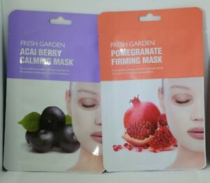 Fresh-Garden-Acai-Berry-Calming-Mask-and-Pomegranate-Firming-Mask-NEW-SEALED