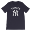 New-York-YANKEES-Navy-T-Shirt-Graphic-Cotton-Men-Adult-Logo-Jersey-NY-S-2XL thumbnail 2