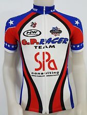 MAGLIA SHIRT CICLISMO GP RACER TEAM VOTEC THREEFACE TG.XS CYCLING BIKE ES217