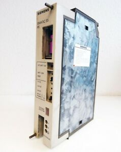Siemens Simatic S5 E220G5/3WRGD DIN 41752 Modular Power Supply -used