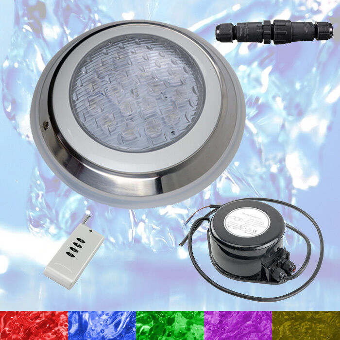 Swimming slå samman LED Lights RGB + Controller + Power - 2 Wire -Very Powerful Colour