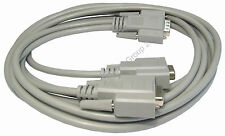 SVGA VGA Splitter Monitor Duplicator 1.8 metre Cable ONE Signal to TWO Screens