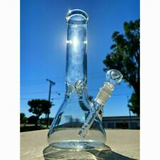 8inch Hookah Water Pipe Heavy Glass Tobacco Beaker Base Bong With Ice Catcher