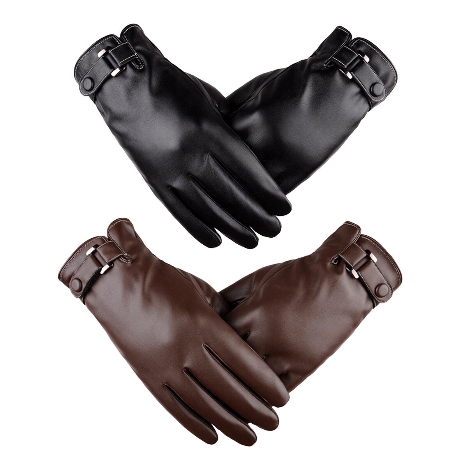 Men Winter Gloves Cycling Driving Running Touch Screen Warm Gloves Mittens