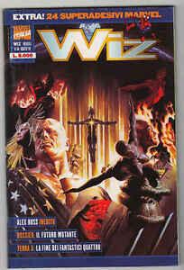 WIZ n°46 con 24 superadesivi (1999) - Marvel Italia