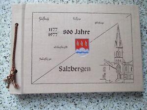 800-Jahre-Salzbergen-Emsland-1977-75-Jahre-Feuerwehr-und-3-Prospekte-Schulte