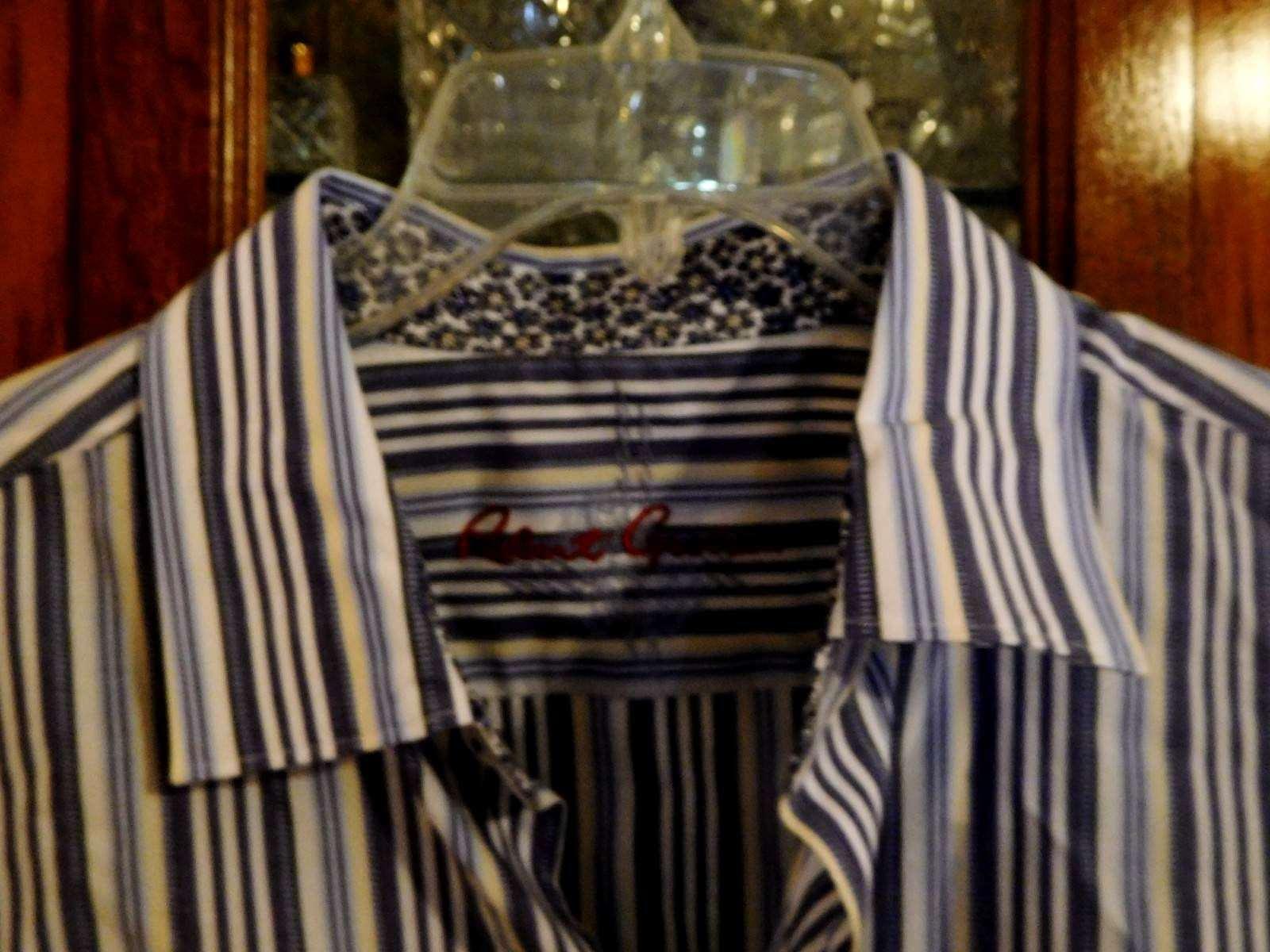 Robert Graham FAB XL NEW  Shirt contrast RNCADancehall Day