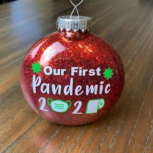 Our First Pandemic Christmas Ornament