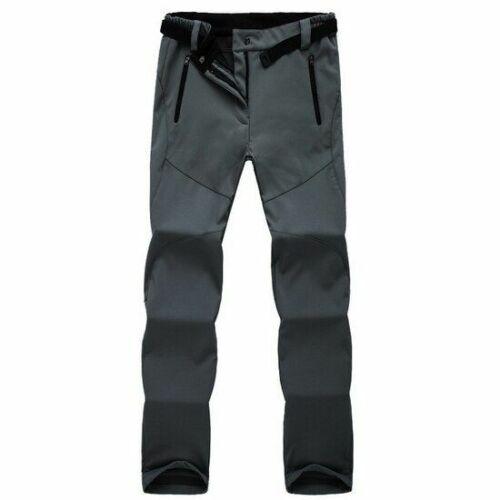 Women Winter Hiking Pants Outdoor Sports Fleece Softshell Mountain//Ski//Trekking