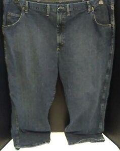 Wrangler Rugged Wear Men's 50 x 28 Straight Leg Medium Wash Jeans