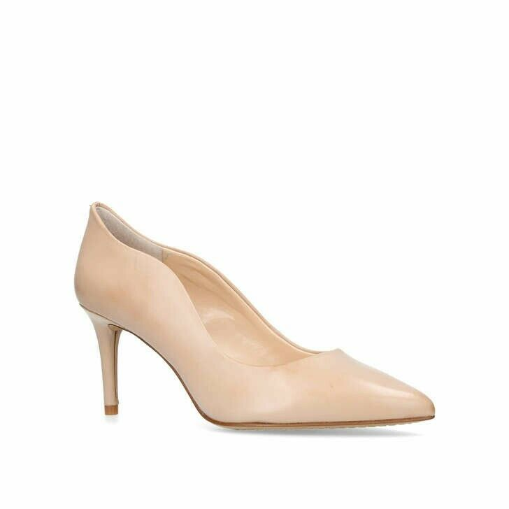 JAYNITADamenschuhe VINCE CAMUTO NUDE LEATHER COURTS  Schuhe SIZE 6